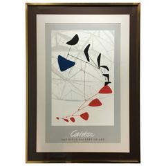 Alexander Calder Exhibition Poster, 1977