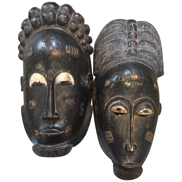 Baoli Masks Pair 1