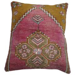 Pink Vintage Turkish Pillow