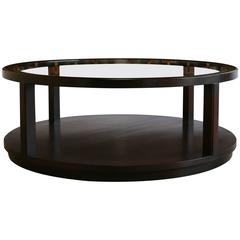 Mahogany and Glass Coffee Table by Edward Wormley  =MOVING SALE !!!!!!