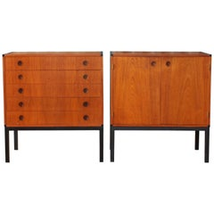Pair of Danish Modern Cabinets by Aksel Kjersgaard