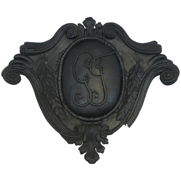 """French Sign """"G T"""" (18th century)"""