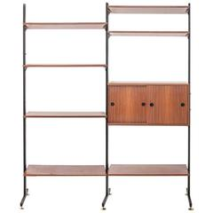 Bookcase Units in Swood with Metal and Brass Details
