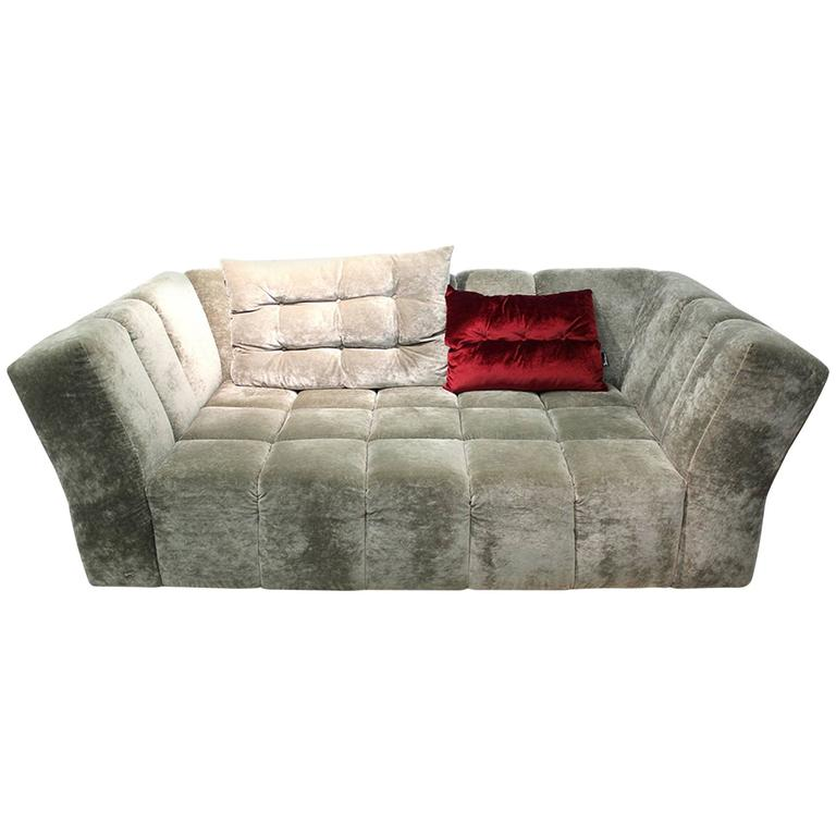 bretz corner sofa matilda exceptional piece of the german manufacture for sale at 1stdibs. Black Bedroom Furniture Sets. Home Design Ideas