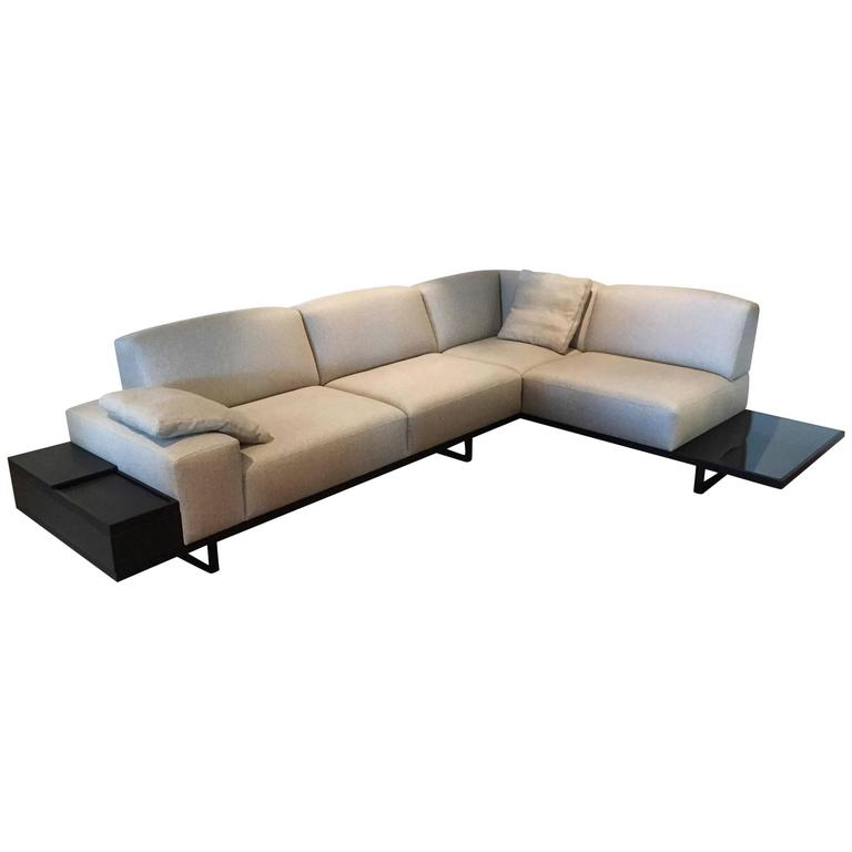 Corner Sofa Palais by the Austrian Manufacture Wittmann