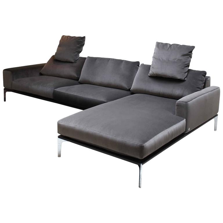 corner sofa spirit by german manufacturer bielefelder werkst tten for sale at 1stdibs. Black Bedroom Furniture Sets. Home Design Ideas
