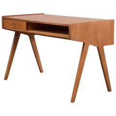 Restored 1950s Walnut Desk, Helmut Magg