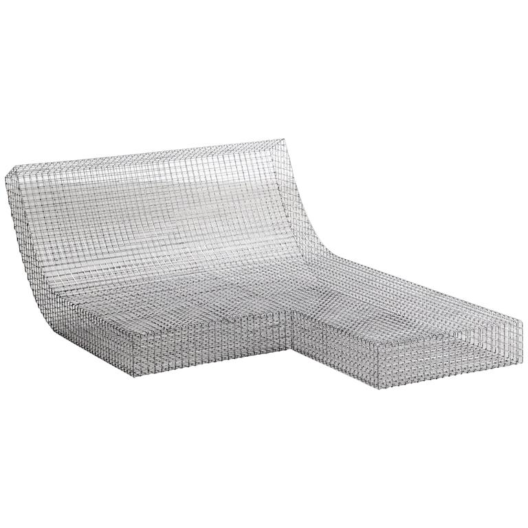 "Muller Van Severen, Outdoor Lounge Chair Model ""Wire S #8"", Belgium, 2017"