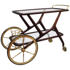 Serving Trolley by Cesare Lacca, circa 1950s