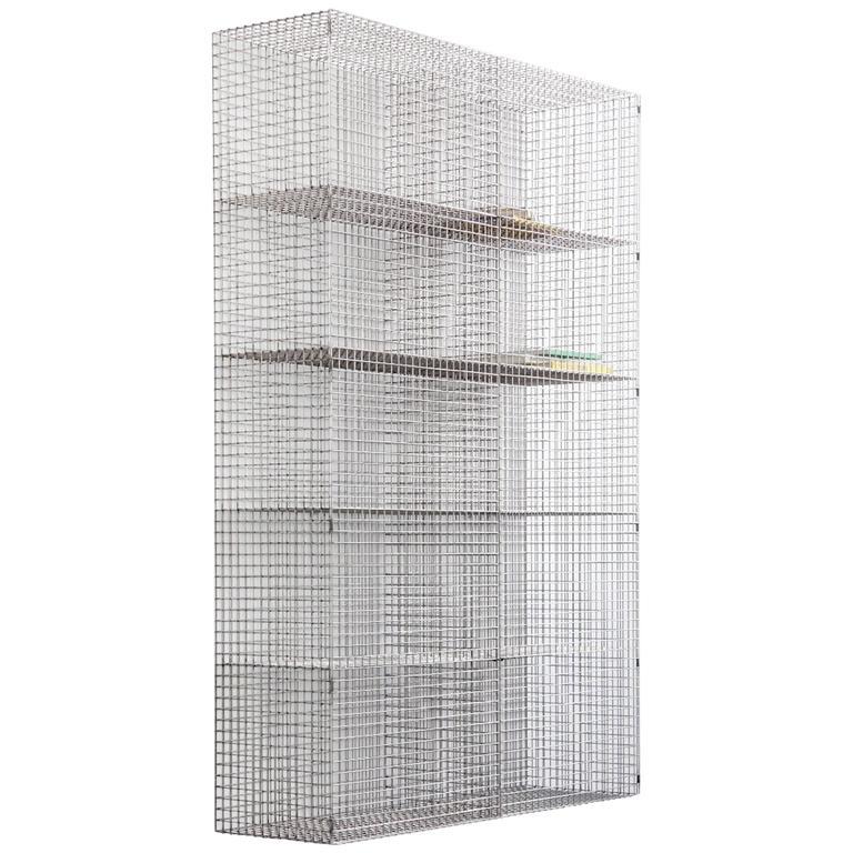"""Muller Van Severen, Bookshelf model """"Wire C #1"""", Belgium, 2017"""