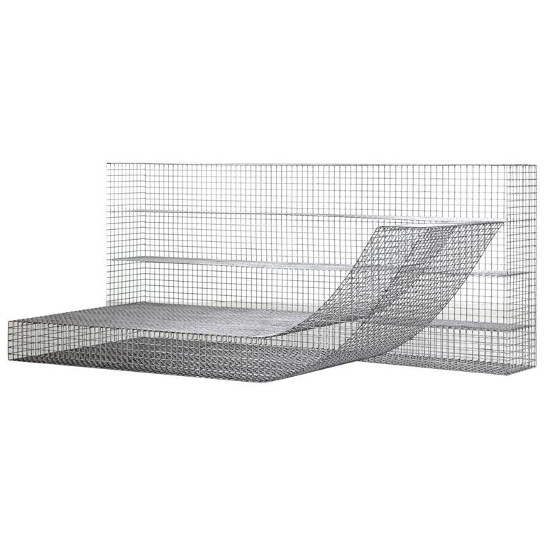 "Muller Van Severen, Outdoor Lounge Chair Model ""Wire S #9"", Belgium, 2017"
