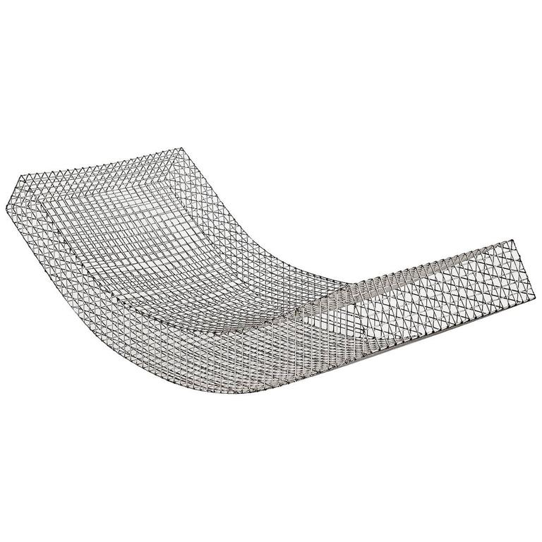 "Muller Van Severen, Outdoor Lounge Chair Model ""Wire S #1"", Belgium, 2017"