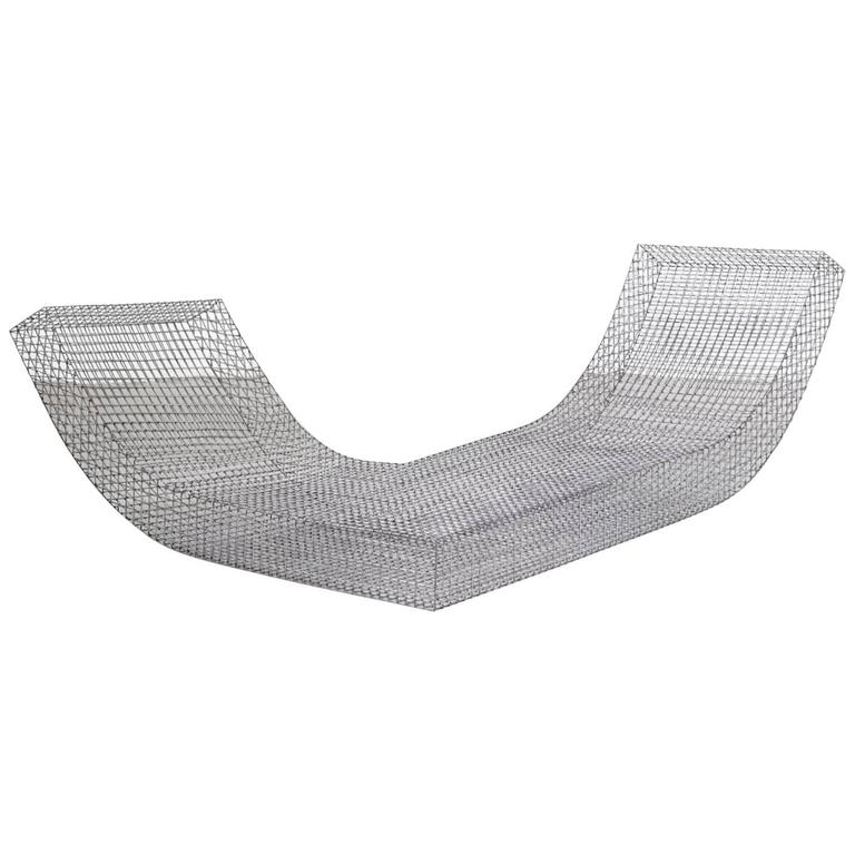 "Muller Van Severen, Outdoor Lounge Chair Model ""Wire S #2"", Belgium, 2017"