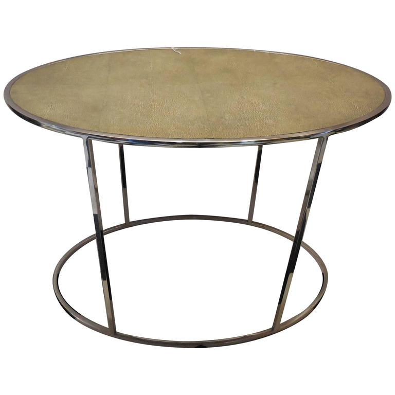 Theodore Alexander Shagreen Top Table 1