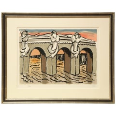 'Pont Neuf' 'Anselmino 6' by Man Ray