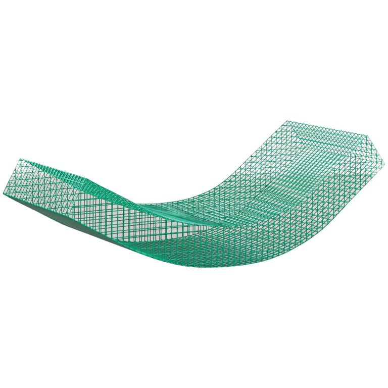 "Muller Van Severen, Outdoor Lounge Chair Model ""Wire S #1"", Belgium, 2017 For Sale"