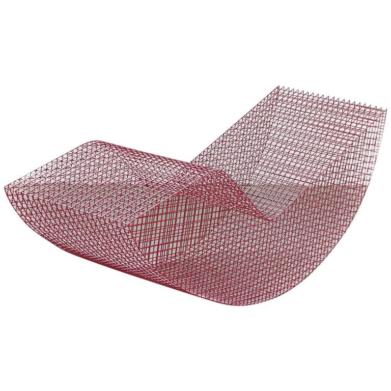 "Muller Van Severen, Outdoor Lounge Chair Model ""Wire S #6"", Belgium, 2017"