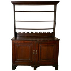 Victorian Solid Oak Welsh Dresser