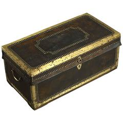 19th Century Chinese Export Travelling Trunk