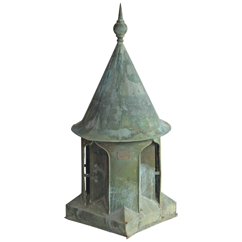 Victorian Copper Roof Vent/Cupola