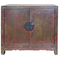 19th Century Chinese Rustic Cabinet