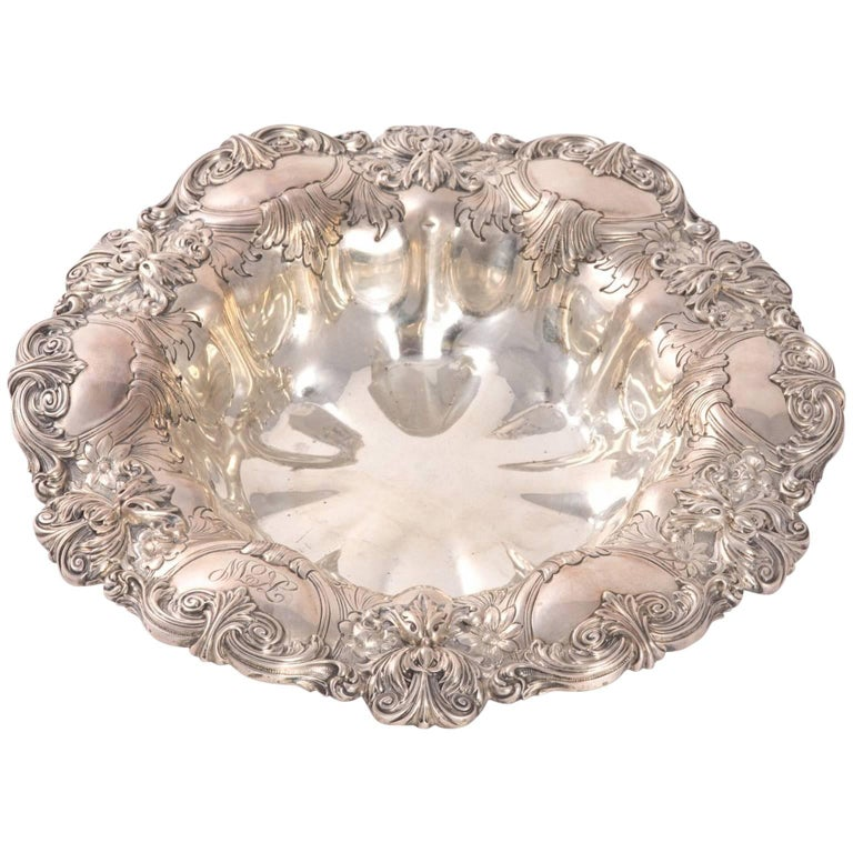 sterling silver gorham ornate bowl for sale at 1stdibs