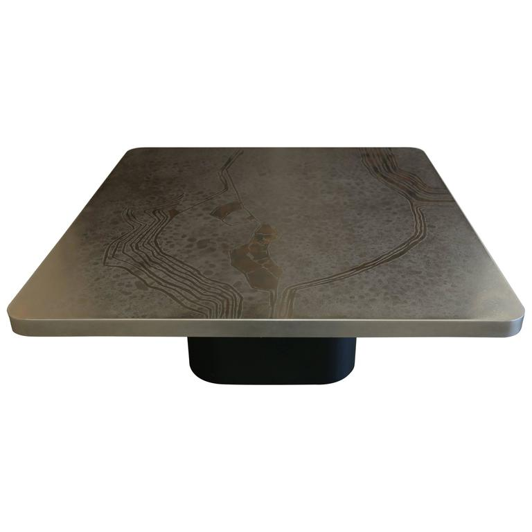 Etched Heinz Lilienthal Coffee Table