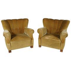 Pair of Danish Modern Lounge Chairs
