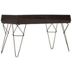 Bowline Ebonized Console Table - In Stock