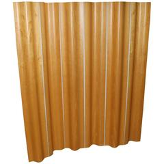 Eames Birch Plywood Six Panel Folding Screen for Herman Miller