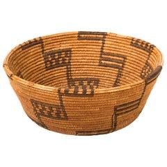 Native American Klamath Basket