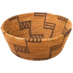 Native American Apache Basket