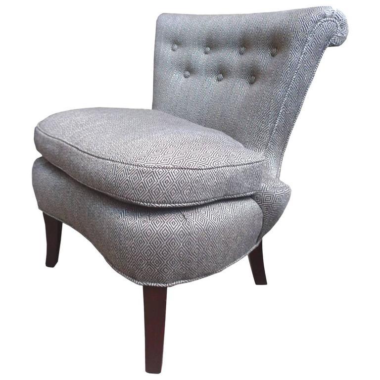1940s Dorothy Draper Slipper Chair