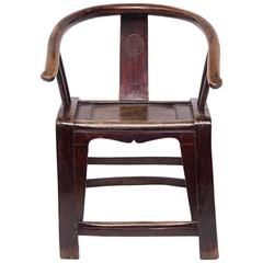 Chinese Provincial Roundback Chair