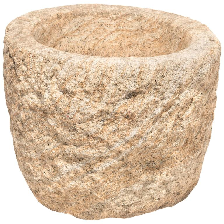 Chinese Stone Mortar
