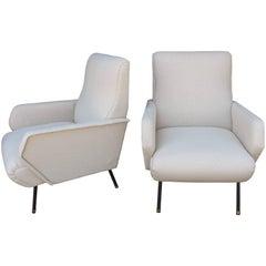 1950s Italian Pair of Chairs