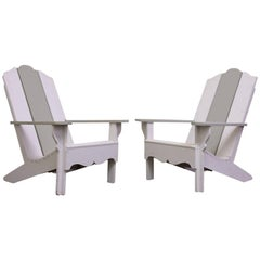 Pair of Vintage Patio or Pool Lounge Chairs