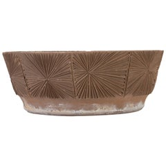 Robert Maxwell and David Cressey Earthgender Wide Saucer Planter
