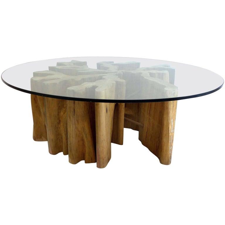 Brazilian Amazon Guaranta Wood Table Base For Sale At 1stdibs
