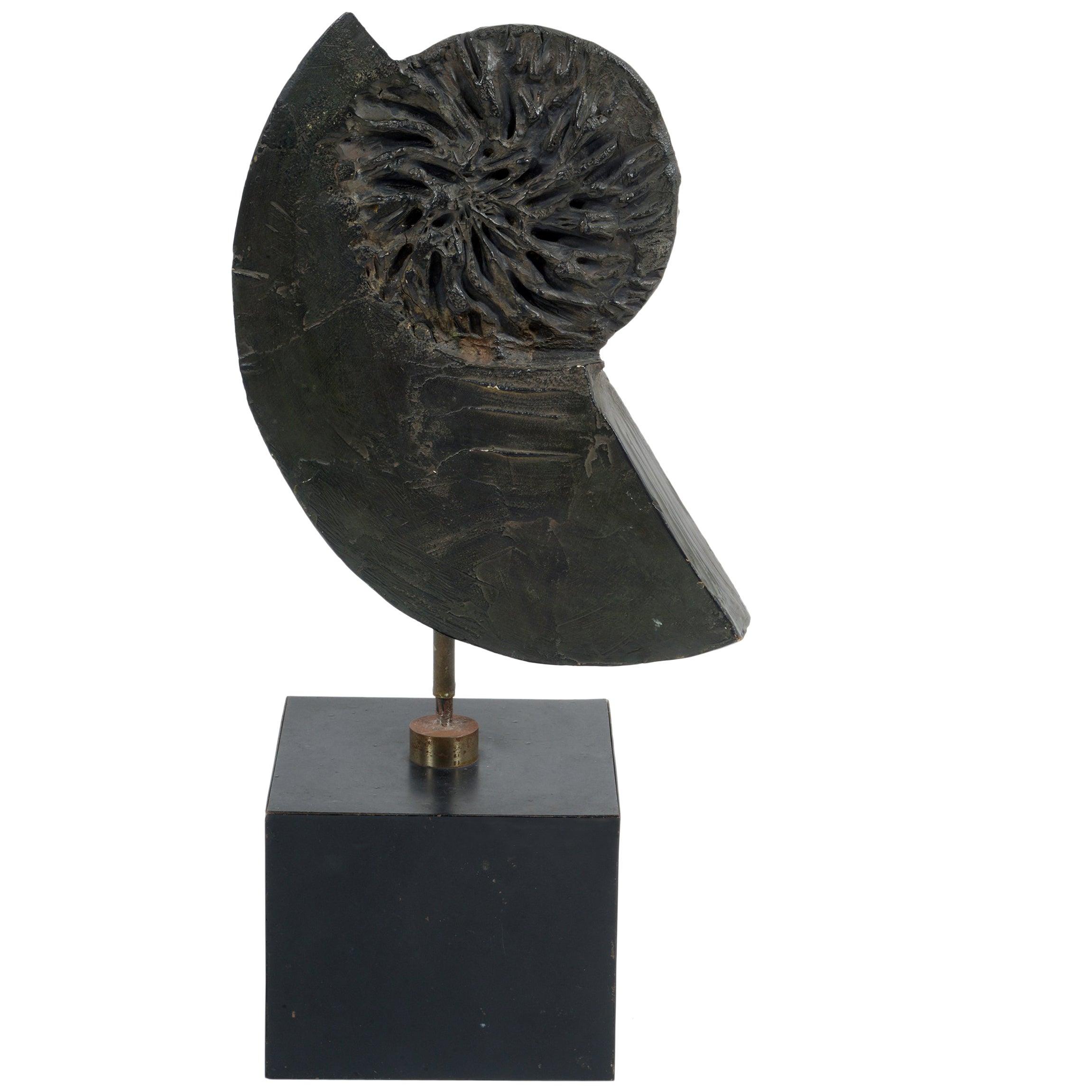 Mid-Century Sculpture by the Master Ceramist Marcello Fantoni, Signed