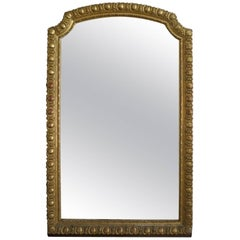 Very Large Antique French Gold Gilt Mirror