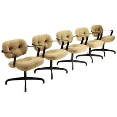 Five Model 2328 Chairs by Andrew Morrison & Bruce Hannah for Knoll