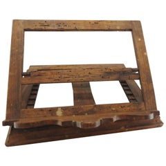 Late 18th Century Italian Olive Wood Book Stand
