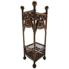 Arts & Crafts Stick and Ball Umbrella Stand