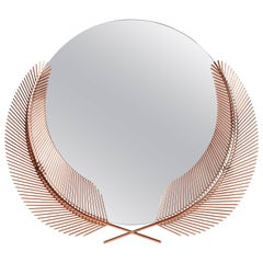 Sunset Rose Gold Mirror Designed by Nika Zupanc for Ghidini, 1961