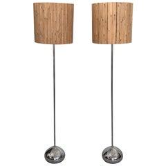 Pair of Unusual George Kovacs Floor Lamps