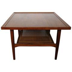 Vintage Kipp Stewart Walnut Coffee Table for Drexel Declaration