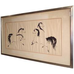 1961 Signed Stalion Print 1 of 20