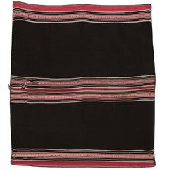 Bolivian Aymara Aguayo Textile Woven of Camelid Wool, Mid-19th Century