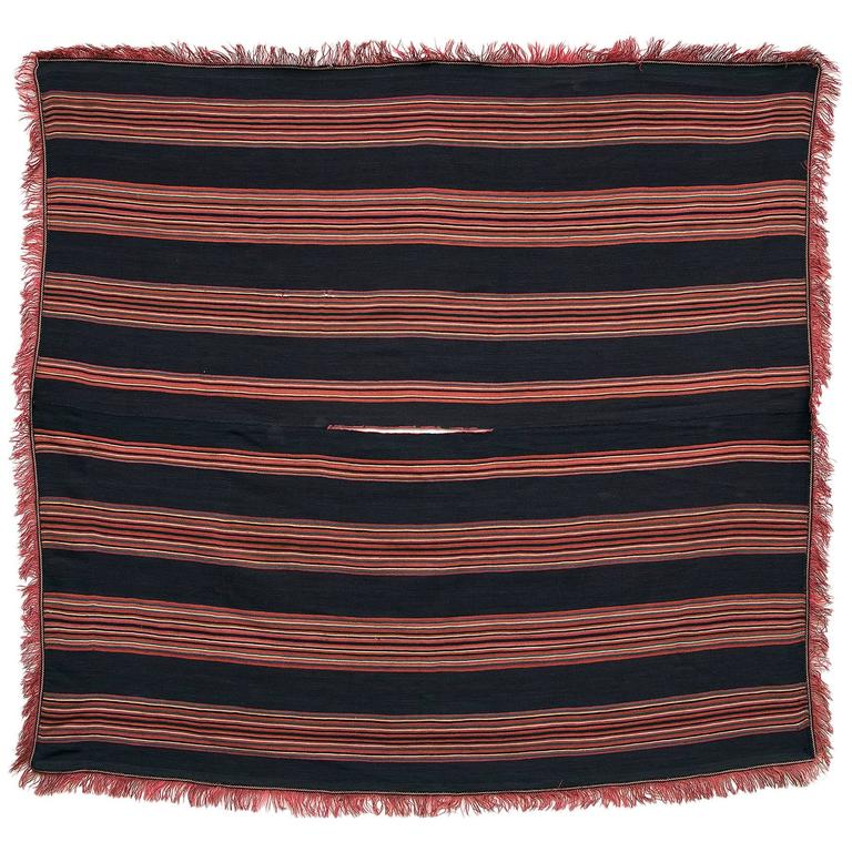 Aymara Camelid Wool Poncho, Bolivia, Mid-19th Century For Sale